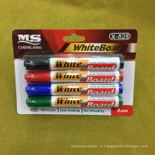 Prateleira de quadro branco 4PCS, conjunto de caneta de marcador de borracha seca