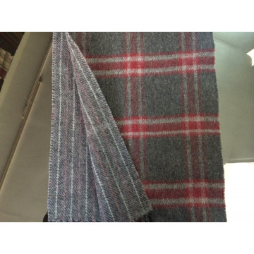 Cashmere Reversible Checked Winter Scarf CS15081901
