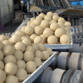 Abrasive alumina ceramics grinding ball in grinding machine
