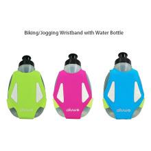 Jogging-Armband mit Wasserflasche