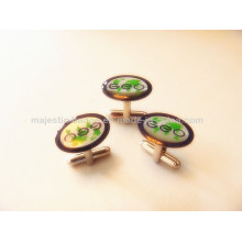 Gold Plating Lovely Decoration Cuff Link