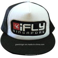 Flat Bill Snapback Trucker Cap mit benutzerdefinierten Raised Embroidery Logo
