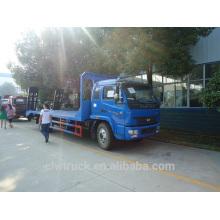 2014 hot sale Iveco 6T flat transport loading excavator