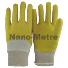 NMSAFETY interlock doublure poignée de jardin robuste latex travail gants de sécurité