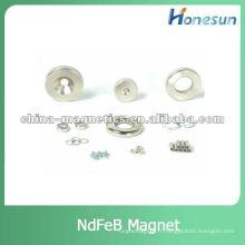 aimant de néodyme permanente fritté N50 anneau