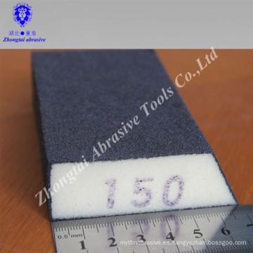 Bloque de esponja de lijado trapezoidal / esponja abrasiva de lijado