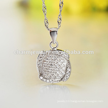 Different Kinds of Beautiful Silver Long Chain Necklace Design for Ladies Wholesale SCR006