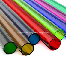 Extrusion hollow plastic clear pmma acrylic tube