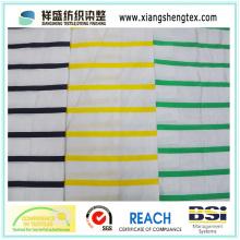 Пряжа покрашенная silk ткань тафты с горизонтальным диапазоном