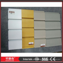 Wholesale fireproof pvc slatwall