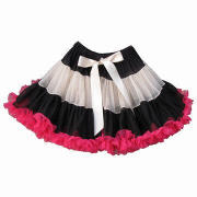 Pettiskirt, made of soft nylon chiffon, adjustable waist band, great for dance, photo or party