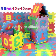 36pcs/Pack Alphabet Number EVA Puzzle Foam Mats Baby Child Kids Teaching Tools Toy Xmas Gift