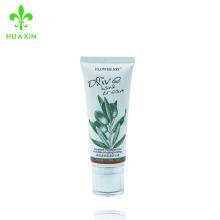 Crema de manos hidratante profunda y nutritiva, ingredientes naturales, tubo de plástico cosmético de la crema paraben libre de la mano