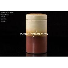 Brown Ceramic Tee Caddy 250g Tee