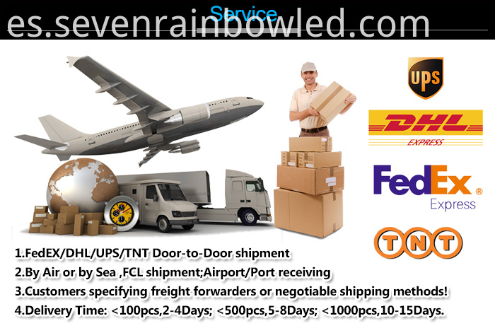 Door to door Delivery Warehouse Lighting