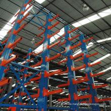 Nanjing Jiangrui Produkte Dach Cantilever Stahl Lagerregal Wand montiert Kragarm Regal
