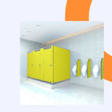 waterproof bathroom cubicle toilet partition factory in China
