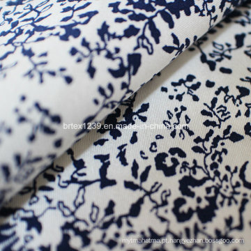 Tecido de sarja de algodão com Spandex (21X16 + 70D / 148X48)