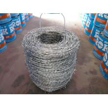 Lámina de alambre de púas galvanizada