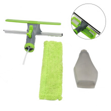 window squeegee patent design glass cleaning multiple use 3-In-1 Window Cleaner Tool spray window cleaner