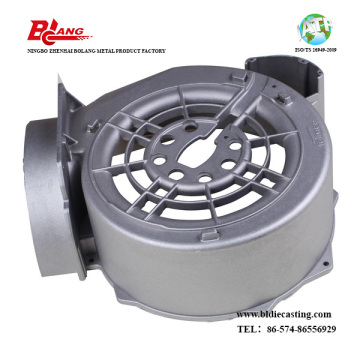 Aluminum die Casting part of Heat Exchanger