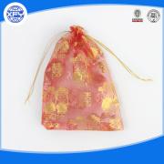 Transparante plastic zak met koord
