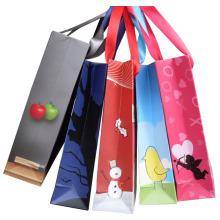 Impression de sacs en papier pour l'emballage et les achats