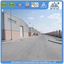 Certificado económico rápido para construir taller de estructura de acero