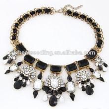 Art und Weise große Korne Großhandelsanweisung Halskette im Porzellan chunky Halskette
