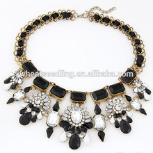 fashion big beads wholesale statement necklace in china chunky necklace