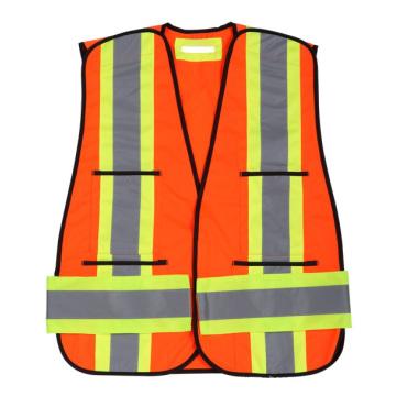 Привет viz Отражательная Тельняшка безопасности с лентой крестом на спине