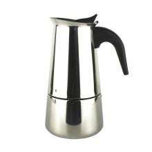 Großhandel benutzerdefinierte Edelstahl Espresso Kaffeemaschine Moka Topf