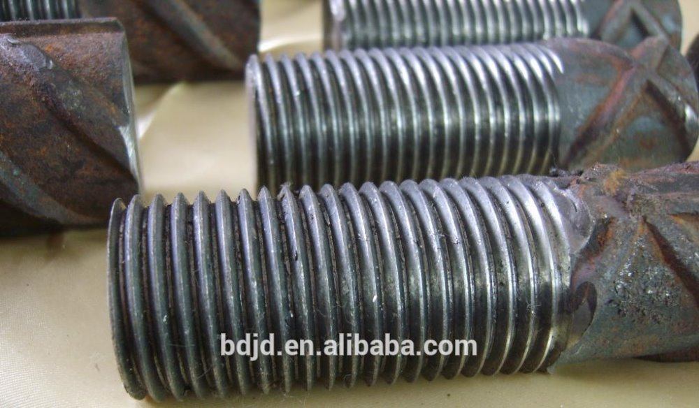 Mesin rebar threading portabel