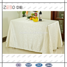 2015 Los más populares Jacquard Linens Rectangle Christmas Table Cloth