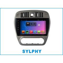 Android автомобильный DVD-плеер для Sylphy с автомобильной GPS-навигацией Автомобильный Bluetooth