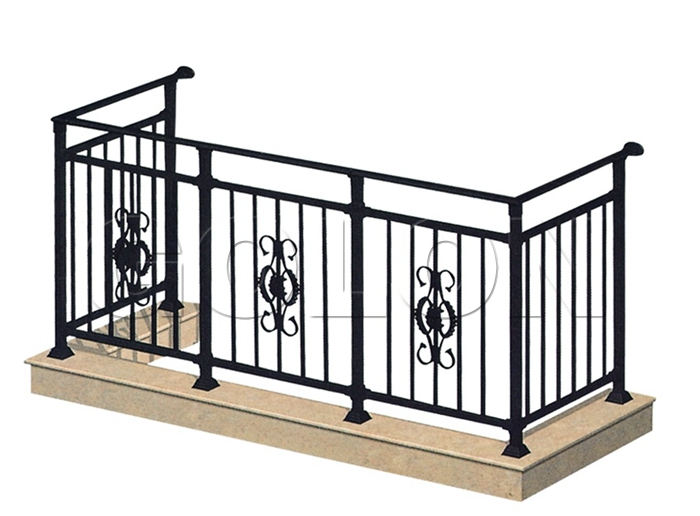 China wrought iron porch railings manufacturers for What does balcony mean