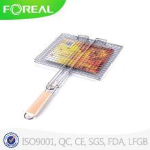 Grade do BBQ do carvão vegetal ao ar livre de fio de metal