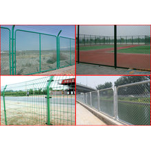 Cerca da ligação Chain & rede provisória da cerca & malha de fio soldada