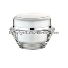 15g 30g 50g UFO forma transparente acrílico cosméticos jarra