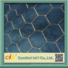 Art und Weise neues Entwurfs-Stickerei-Veloursledergewebe