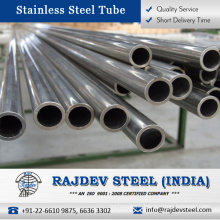 ASTM AISI Certified Stainless Steel Seamless Tube 310 for Long Term Used at Considerable Amount