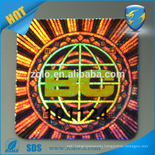 competitve price custom stickers Security seal One time use destructive eggshell vinly hologram label sticker