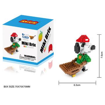 Bloques de construcción Inteligente DIY juguete 3D Puzzle (H9537084)