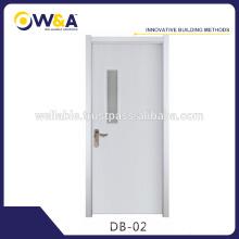 Blanc Intérieur / Placage Moulé / Moulé WPC Intérieur Porte en bois