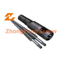 PVC Twin Conical Screw Zylinder Twin Screw Barrel Zytc