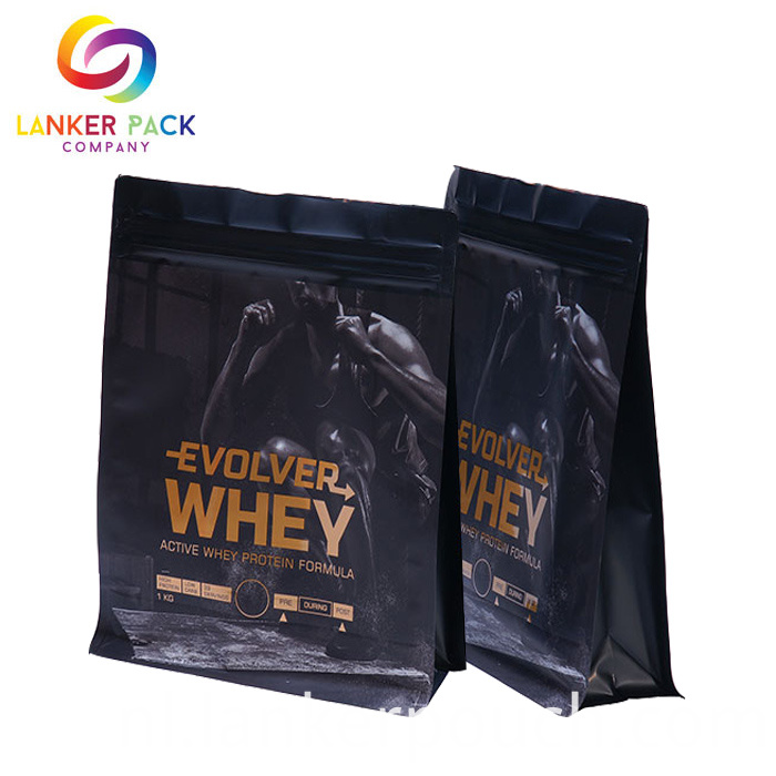 Waterproof Standing Protein Powder Bag