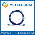 LC Fiber Optic Patch Cord Armored , Steel Armored fiber optic jumper