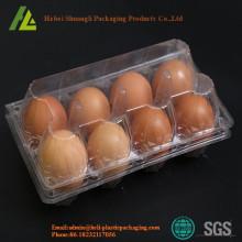 कस्टम डिस्पोजेबल प्लास्टिक अंडे की ट्रे छाला