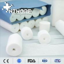 bandage médical de gaze de bord coupé