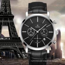 Brand Watch for Men Chronograph Wrist Watch with Quartz Movt72591